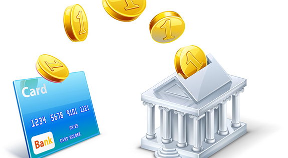 money transfer between card and bank vector 3154330